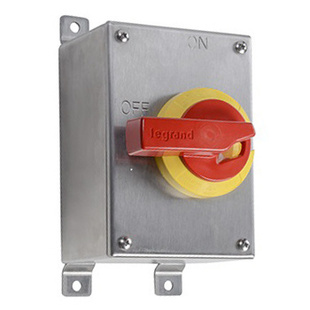 Stainless Steel Safety Switch, 30 Amps