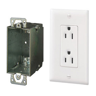Surge Protected Duplex Power Kit