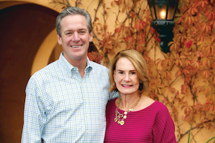Nicholas and Susan Simon. Courtesy of Nicholas and Susan Simon. (Click image to download hi-res version.)