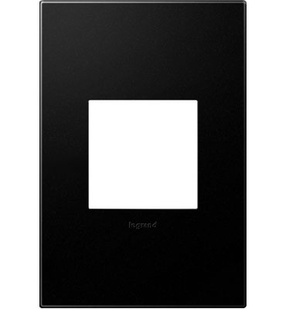 Graphite 1-Gang Wall Plate