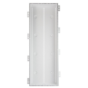 PLASTIC 42 IN ENCL W/TRIM & HINGED COVER