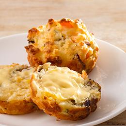 Super Savoury Vegetarian Muffins