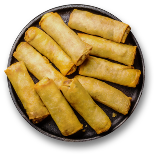 Cheesy Banana Popiah