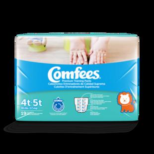 CMF-B4 -  Comfees Training Pants Boys, 4T/5T, 19 count