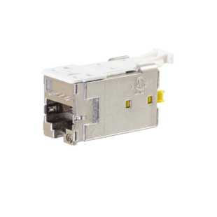 Clarity CAT6 Shielded High Density Jack, T568A/B, HDJS6