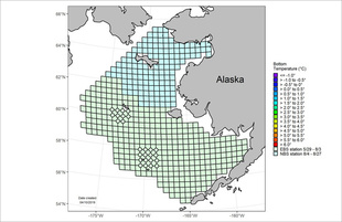 The southeastern Bering Sea bottom trawl survey will be conducted from approximately May 31 to August 2.