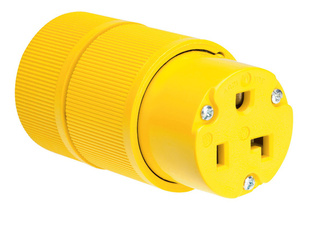 Gator Grip Connector, Yellow
