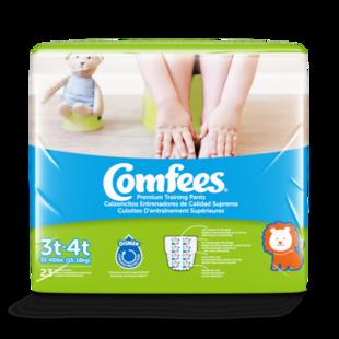 CMF-B3 - Comfees Training Pants Boys, 3T/4T, 23 count