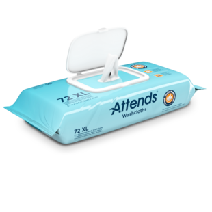 Attends Scented Washcloths 72ct