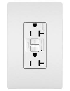 PlugTail® Spec-Grade 20A Self-Test Duplex GFCI, White