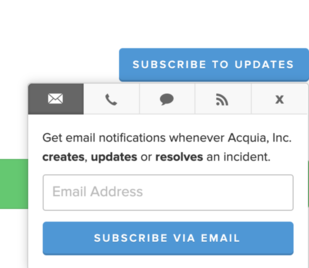 Subscribe to Status notifications image