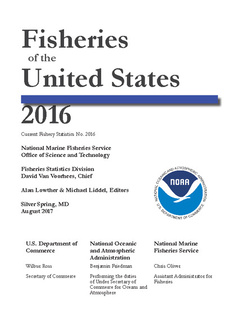 Fisheries of the United States, 2016