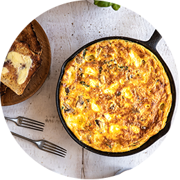 Cheese & Herb Frittata