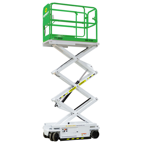 14-19 Scissor Lift Electric