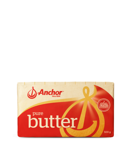 Anchor Salted Butter 500g block