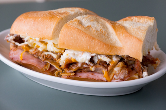 The Cuban at Las Delicias is Lindsay's go-to for an inexpensive meal. Image: Las Delicias