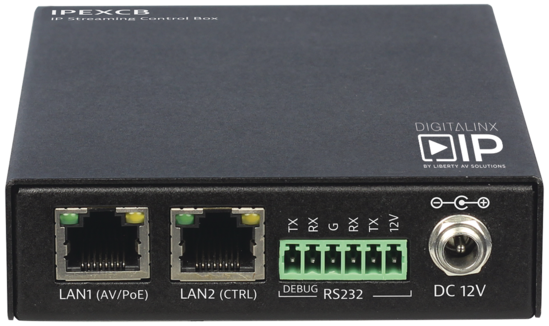 HDMI Over IP RS232/IP Control Box for DigitalinxIP 2000 & 5000 series products