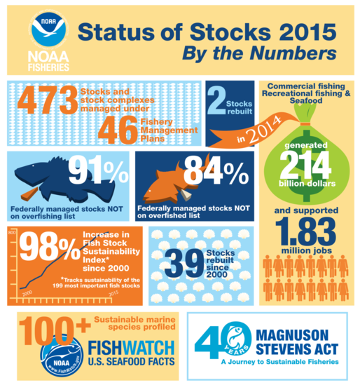 Status of Stocks 2015 by the numbers