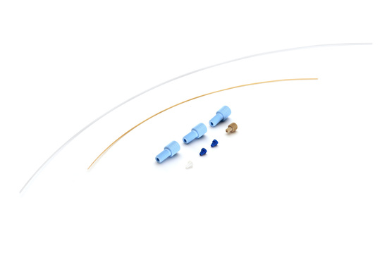 Tubing Set 1/32 inch Valco, AS-2 Produktbild Front View L