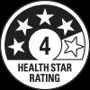 4 health star rating