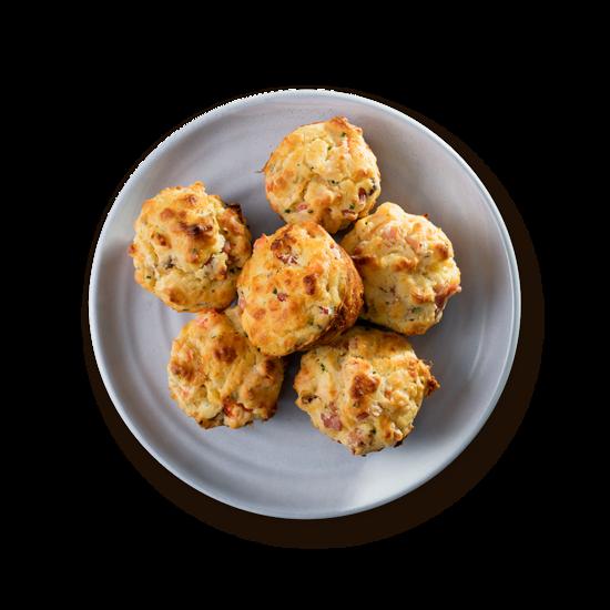 Muffins de Jamón