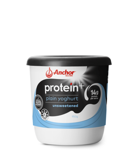 Anchor Protein+ Plain Yoghurt 950g tub