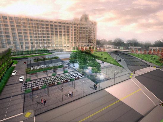Crosstown rendering