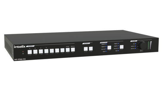 8x2 HDMI 2.0 Seamless Presentation Matrix Switcher with HDBaseT Input and Output with Included 18G HDBaseT Receiver