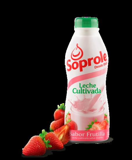 Soprole Leche Cultivada sabor Frutilla