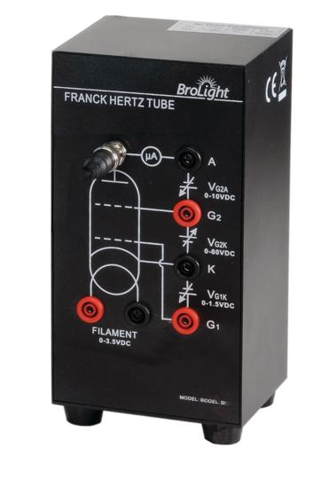Franck-Hertz Tube Enclosure with Air Tube