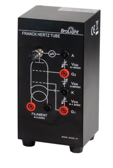 Franck-Hertz Tube Enclosure with Argon Tube