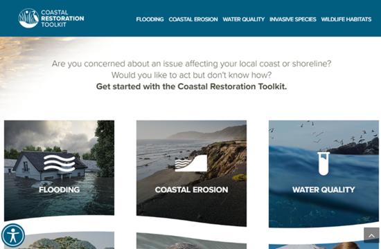 Coastal Restoration Toolkit screenshot