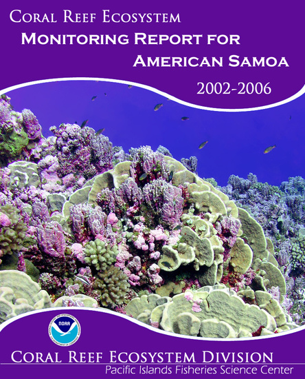 American Samoa Coral Reef Ecosystem Monitoring Report Cover