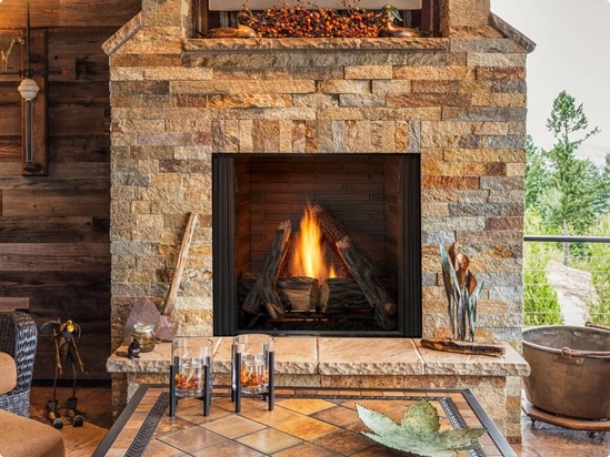 Outdoor Gas Fireplaces And Fire Pits, Best Outdoor Fireplaces For Heat