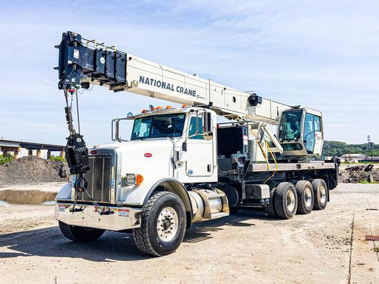 2016 Peterbilt 365 8x6 National NBT36127 Boom Truck