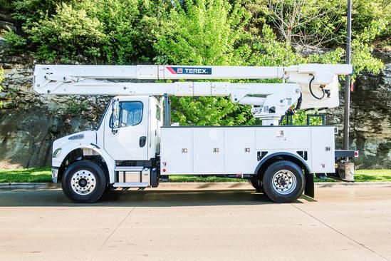 2021 Freightliner M2106 4x2 Terex TC55 OPTIMA Bucket Truck