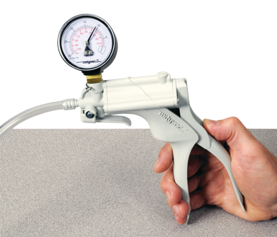 Hand-Operated Vacuum Pump