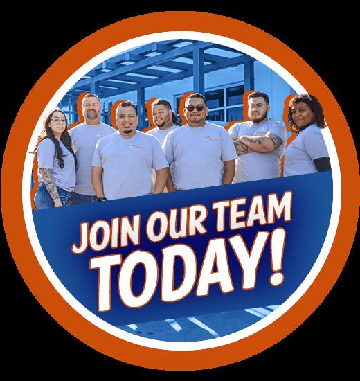 ¡Únase a nuestro equipo hoy!