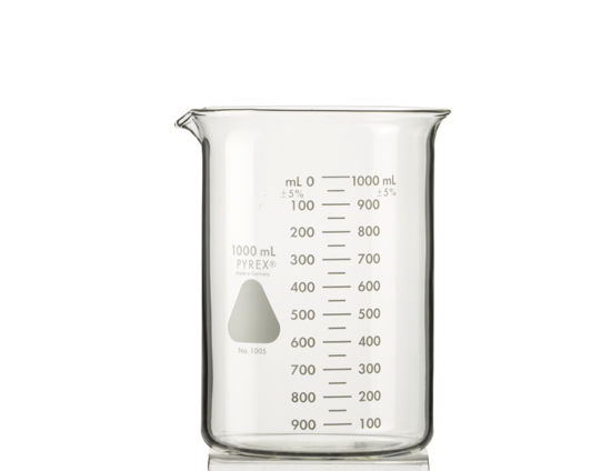 Beaker, 1000 ml (6 Pack)
