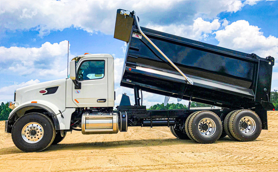 2019 Peterbilt 567 6x4 OX BODIES 16' Stampede Dump Truck