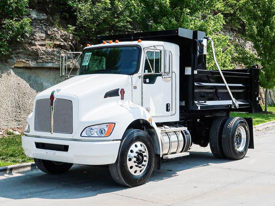 2022 Kenworth T270 4x2 Load King SSD10.02910GA Dump Truck