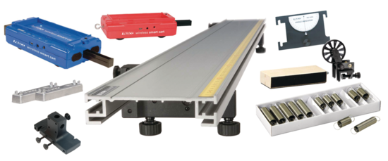 Standard Smart Cart Metal Track 1.2 m System <span class=