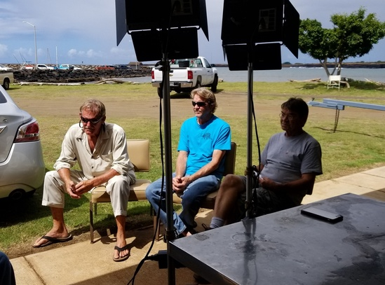 Steve Wheeler, Steve Arnold, and Dan Klintoff share stories from their combined 120 years of bottomfishing in Hawai'i