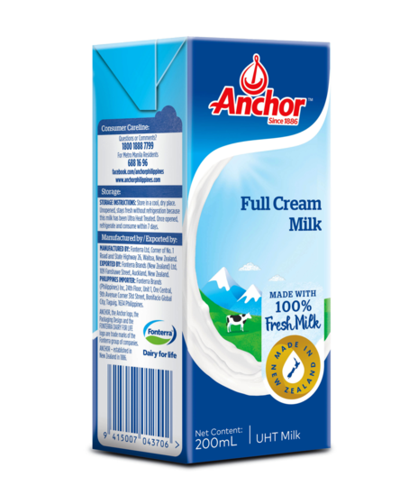 Anchor Full Cream UHT Milk 1L