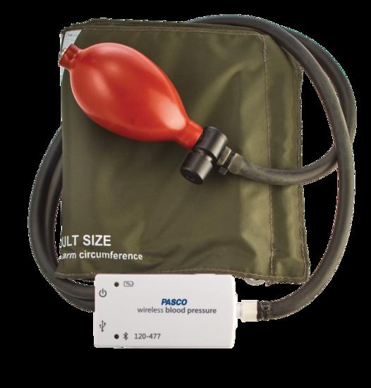 Wireless Blood Pressure Sensor with Standard Cuff