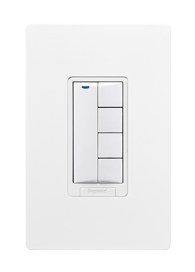 DLM Wireless 5-Button Wall Switch, Lt. Almond