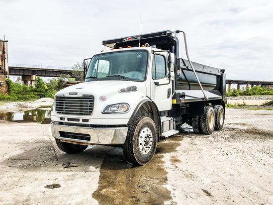 2020 Freightliner M2106 6x4 OX BODIES 16' Stampede Dump Truck