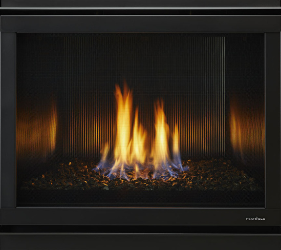 6000 Modern Indoor Gas Fireplace | Heat & Glo