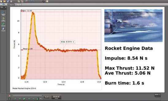 Rocket Engine Test Bracket screen
