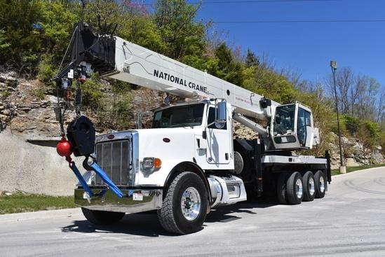 2013 Peterbilt 367 8x6 National NBT55128 Boom Truck